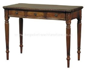 Colonial 3 Drawer Writing Desk